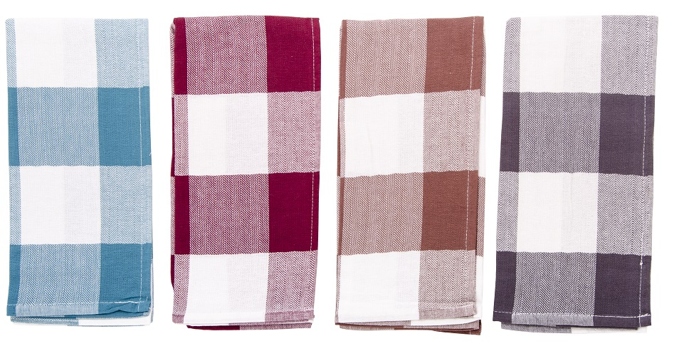 Ścierka Do Kuchni Stripes 45x65 Bordo